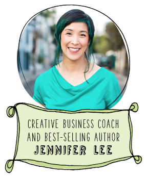 Jennifer Lee, Creative Business Coach and Bestselling Author