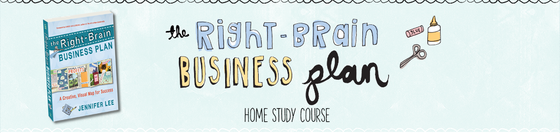 the right brain business plan home study e course for the creative