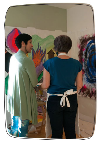 intuitive painting coaching
