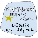Right-Brain Business Plan e-Course