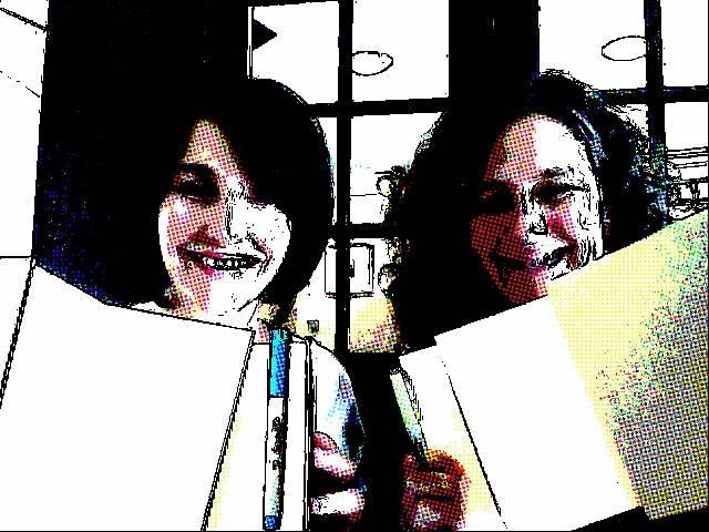 Rebecca Badger and Kristina Ender