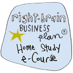 Right-Brain Business Plane e-Course