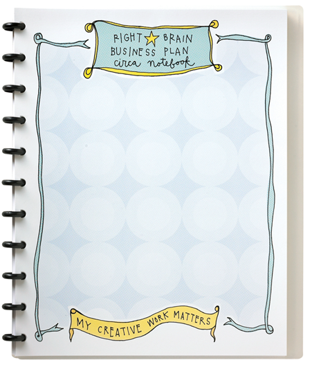 the right brain business plan circa notebook the right brain